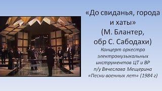 До свиданья, города и хаты - Оркестр электромузыкальных инструментов п/у Вячелава Мещерина