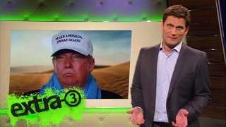 Christian Ehring: Make America sweat again | extra 3 | NDR