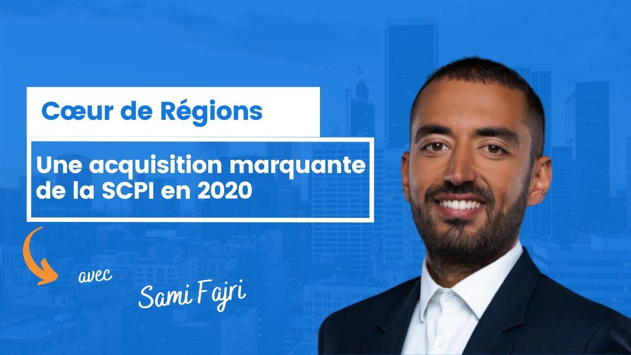 Une acquisition marquante pour Cœur de Régions en 2020