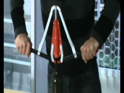 Hammaddeler.com - El Tipi Mantarlama Makinesi Kullanımı (Zeytinyağı ve Şarap İmalatı için)