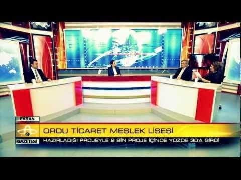 ORDU TİCARET MESLEK LİSESİ - AB Comenius projesi | ALTAŞ TV | Sabah Gazetesi Programı