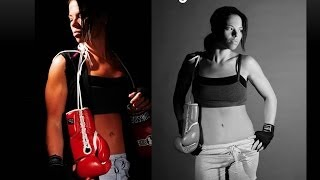 HEAVY BAG WORKOUT- BURN FAT BOXING EXERCISE DRILL