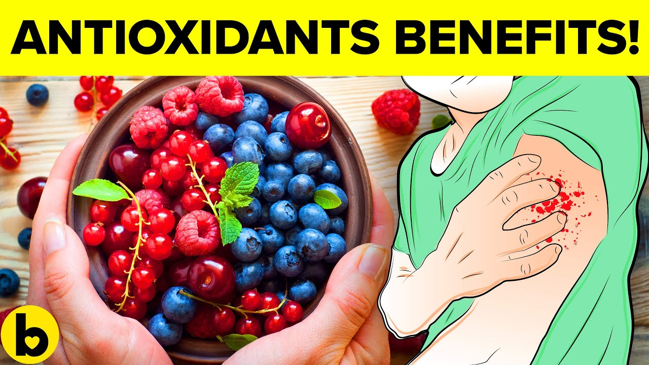 8 Important Health Benefits of Antioxidants