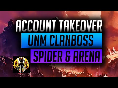 RAID: Shadow Legends | Account takeover - UNM 3 key, Spider 20 auto & Arena set up, LETS GO!