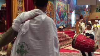 Aba aregawi singing mezmur in Oromo
