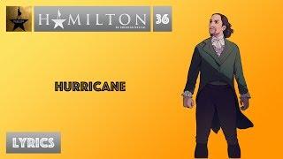 #36 Hamilton - Hurricane [[MUSIC LYRICS]]