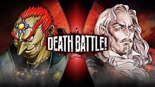 Ganondorf VS Dracula (Zelda VS Castlevania)   DEATH BATTLE!