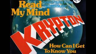 Krypton - How Can I Get to Know You? - Audio Track