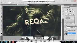 @Reqaz_tK Rebrand speedart - Aron tK