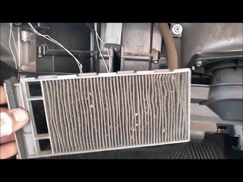 Замена салонного фильтра nissan almera n15