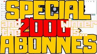 SPÉCIAL 2000 ABONNÉS - GAGNE UN JEU EARLY ACCESS ! AND THE WINNER IS ...