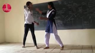 School Girl Dance on Dj Songs - Desi College Girls Dance - Desi Dance 2017 width=