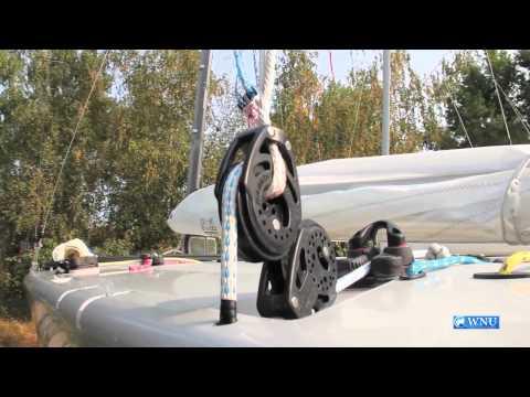 Ukrainian Professional Yacht Race Sets Sail at the Kyiv Sea