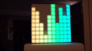 Music reactive LED Matrix