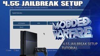 Full PS4 4.55 NewJailbreak Setup Tutorial