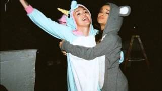 Miley Cyrus & Ariana Grande - Don't Dream It's Over (Audio - No Talking)