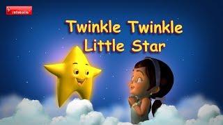 Twinkle Twinkle Little Star - Nursery Rhymes with lyrics