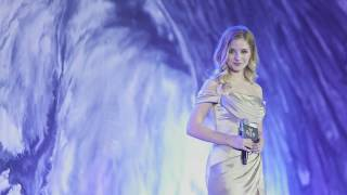 "Jackie Evancho Perform ""Troy"" theme song in China official video"