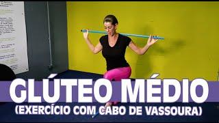 Glúteo Médio (exercício com cabo de vassoura) | Curso de Pilates - Dica da Semana