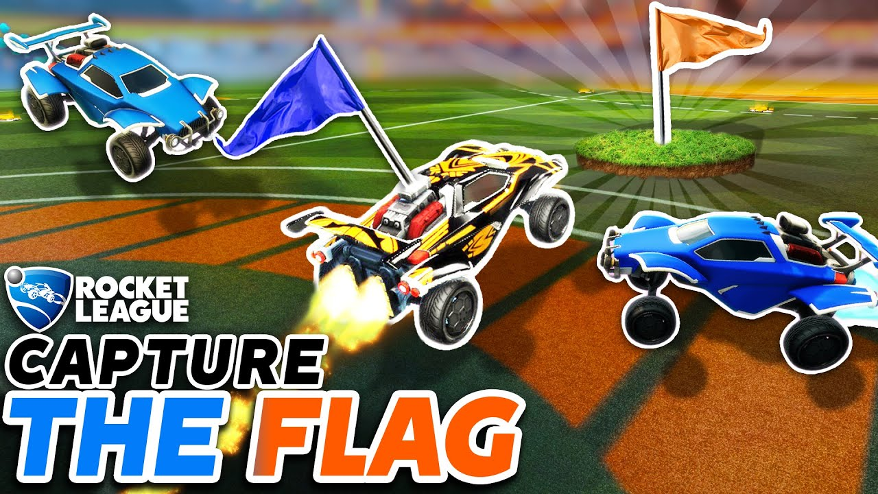 lethamyr_rl - ROCKET LEAGUE CAPTURE THE FLAG IS HERE, AND IT'S INSANE!