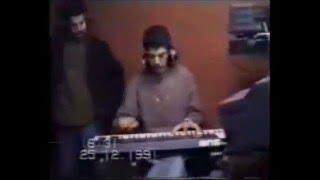 """Maestro """"Ali Bouabdellah"""" et Cheb Hasni  en Studio  - 1991"""