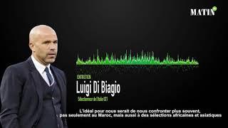 """Luigi Di Biagio, sélectionneur de l'Italie U21 : """"Le match face au Maroc est un test stimulant pour nous"""""""