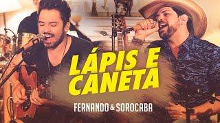 Fernando & Sorocaba – Lápis e Caneta   FS Studio Sessions Vol.02