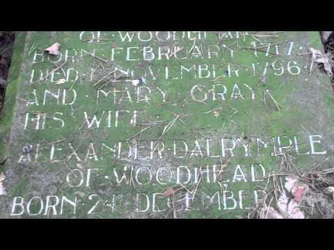 Alexander Dalrymple Gravestone Auld Aisle Cemetery Kirkintilloch East Dunbartonshire Scotland
