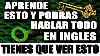 SOLO APRENDE ESTO Y DOMINARAS EL INGLES MUY RAPIDO Y FÁCIL – CURSO DE INGLES COMPLETO width=