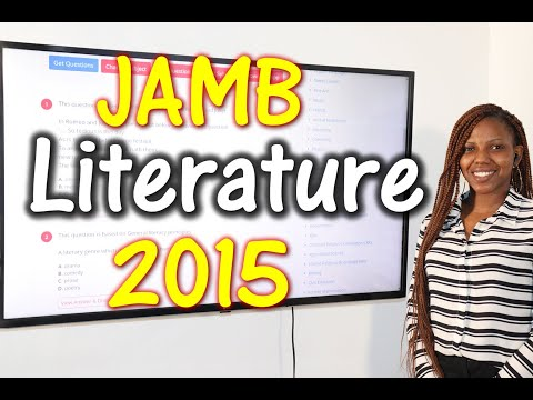 JAMB CBT Literature in English 2015 Past Questions 1 - 15