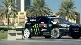#BATTLEDRIFT Ken Block Dubai Drift استعراض كين بلوك دبي