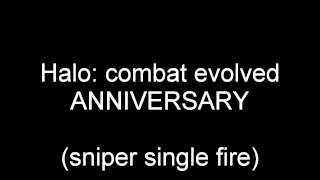 Sniper + grenade sounds Halo: Anniversary sounds