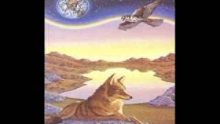 Native tambor wolf pow wow