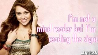 Miley Cyrus - See You Again Lyrics HD