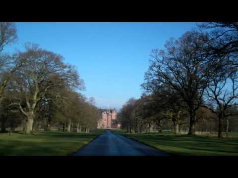 Drive To Glamis Castle Scotland February 11th