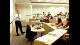 Aula do curso de graduação em Administração - Vestibular EBAPE/FGV