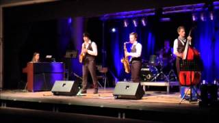 The SaxoSwing Combo - Booty Swing (Parov Stelar Cover) live