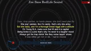Young M A Bleed Lyrics and Bass Boosted