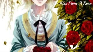 HD | Nightcore - Kiss From A Rose [Angela Aki]