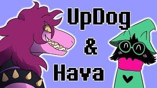 UpDog and Hava - Deltarune Short Comic Dub