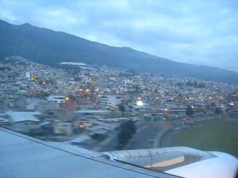 Congreso ESPE 2009, 01′ Landing at Quito