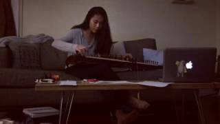 Flowers (ft Nori) - In Love With A Ghost (guzheng jam/cover)