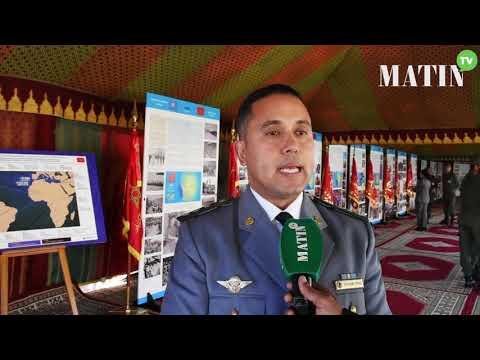 Video : Exposition : Contribution du Maroc aux Opérations de Maintien de la Paix et l'action humanitaire dans le monde