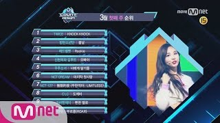 What are the TOP10 Songs in 1st week of March? M COUNTDOWN 170302 EP.513