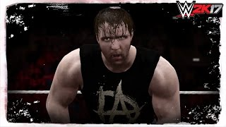 WWE 2K17: Dean Ambrose Custom Titantron! (w/ Custom Theme)
