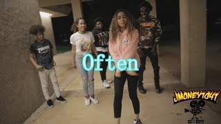 Nebu Kiniza - Often (Dance Video) shot by @Jmoney1041
