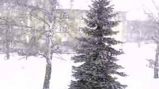 Chegou a neve em Presov