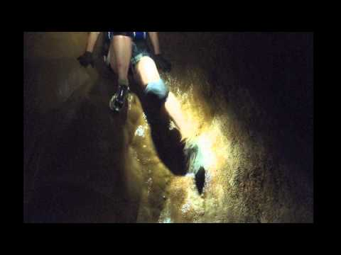 Caving at Angeles Caves in Puerto Rico