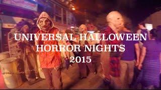 GoPro: Universal Halloween Horror Nights 2015
