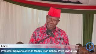 Awori's full speech on behalf of Kibaki at Mang'u High School